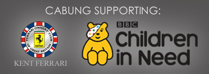 CUBUNG SUPPORTS KENT FERRARI AND THE BBC