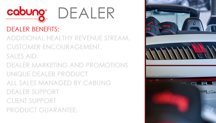 CABUNG PRODUCTS - DEALER SUPPORT OVERVIEW